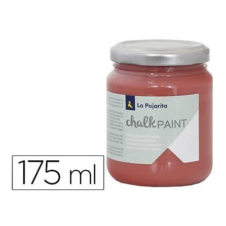 Pintura Acrilica La Pajarita Efecto Tiza Color Marsala 175 ml Chalk Paint