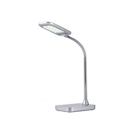 Lampara de Oficina Archivo 2000 Flex Tactil LED 5W Blanco Neutro Plata