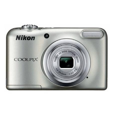 Cámara digital Nikon Coolpix A10 Plata de 16,1 MPX Zoom Optico 5X