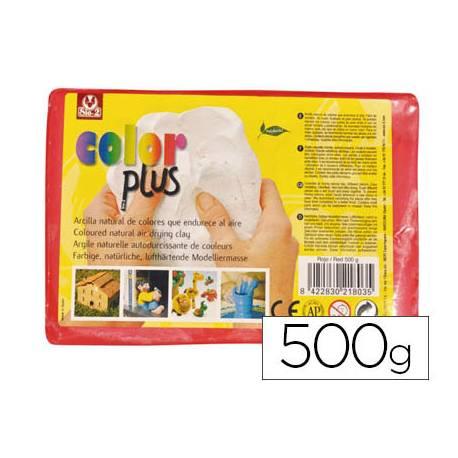 Arcilla Sio-2 Colorplus color rojo 500 g