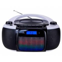 Radio Reproductor Daewoo 29x23x13,5 cm con CD y MP3 con Bluetooth