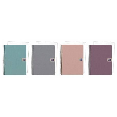 a9a8acc742 Cuaderno Oxford European Book 1 Nature DIN A5 Liso tapa extradura Colores  surtidos