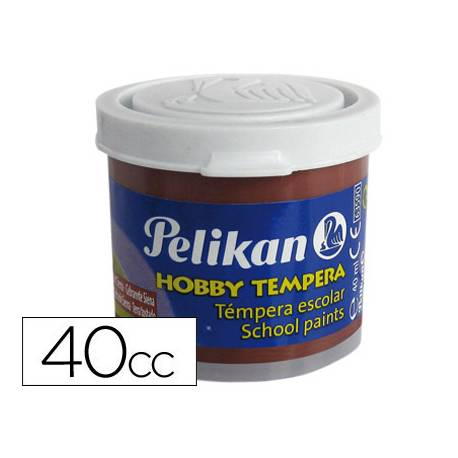 Tempera Pelikan color siena 40 cc