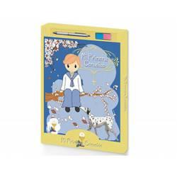 Libro de Recuerdo Comunion Sello para huellas + Boligrafo Arguval 29x24 cm Niño con Arbol