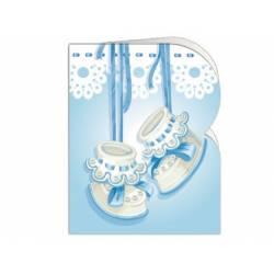 Etiqueta para regalo Arguval Troquelada Paquete de 90 unidades de Bebe Modelo 2