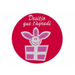 Etiqueta para regalo Arguval Rollo de 250 unidades en Catalan Modelo 10