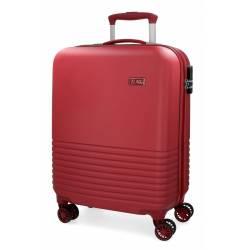 Maleta de cabina 55x36x20 cm Rigida El Potro Ride de color Rojo